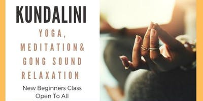 Beginners Kundalini Yoga & Meditation class with Gong Sound Relaxation