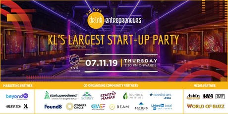 KL's Largest Startup Party at Kyo, Mandarin Oriental tickets