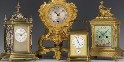 Lecture on Antique Clock Archaeology and Auctions