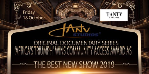 TV FUNDRAISING DINNER & CELEBRATION AS TANTV DOCU-SERIES WINS BEST NEW SHOW