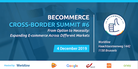 BeCommerce Cross-Border Summit 6th Edition tickets