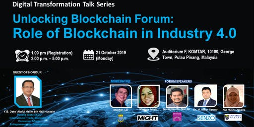 DIGITAL TRANSFORMATION FORUM SERIES: ROLE OF BLOCK