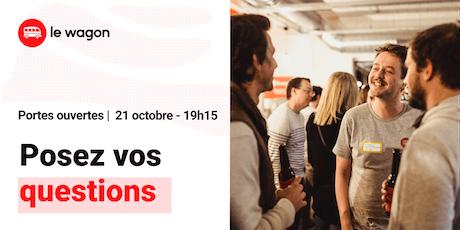 Session d'information le Wagon Bordeaux le 21 octobre - Apprendre à coder tickets