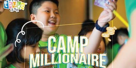 Camp Millionaire for Kids November 2019 Selangor tickets