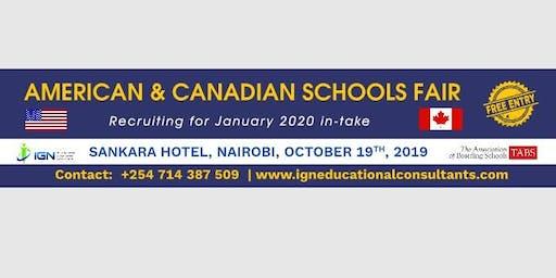Canada and American Boarding Schools Expo (Free)