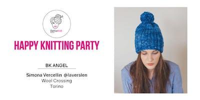 Knitting Party - Rib Twisted Beanie - TORINO