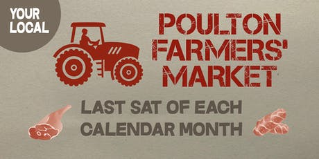 Xmas Poulton-le-Fylde monthly Farmers' Market tickets