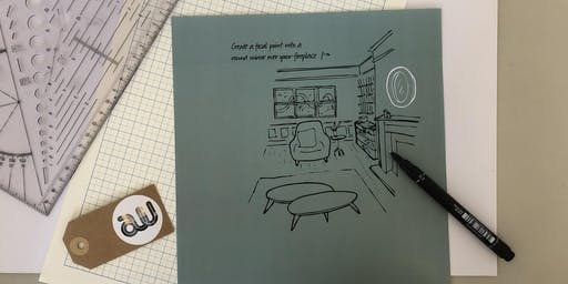 Designer's Table Masterclass: Sketching as a Communication Tool for Interior Designers - Level 2