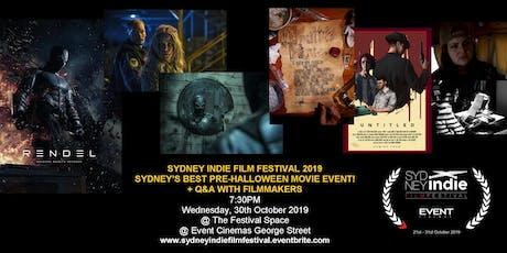 Sydney Indie Film Festival 2019 – Pre-Halloween Movie Event! tickets