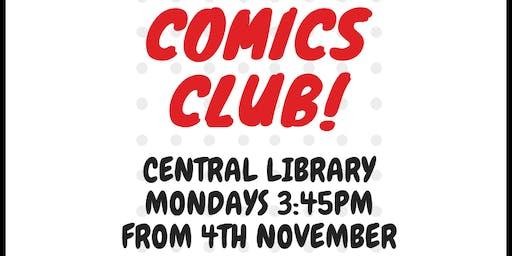 Comics Club at Bristol Central Library