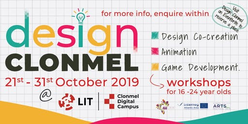 Design Clonmel  - Game Co-Creation