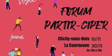 Forum Partir-Ciper 2019  billets