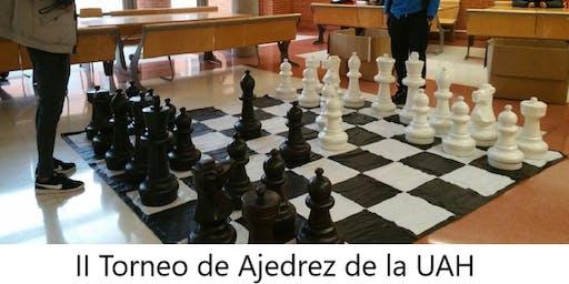 II Torneo de Ajedrez de la UAH