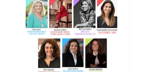 Masterclass / Workshop de Liderança Feminina bilhetes