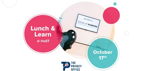 """Lunch & Learn #6 @ HoST : """"Privacy by Design"""" feat. The Privacy Office tickets"""