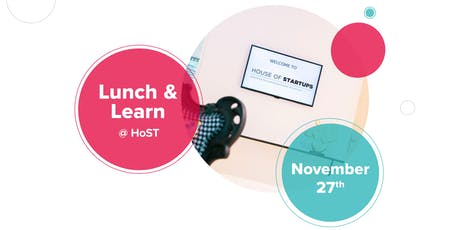 """Lunch & Learn #8 @ HoST: """"Risk Management & Insurance for startup"""" w/ ABIL tickets"""
