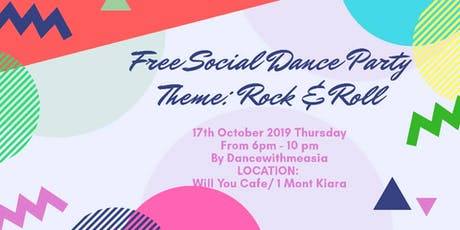 FREE SOCIAL DANCE PARTY  tickets