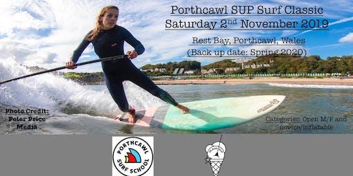 Porthcawl SUP Surf classic