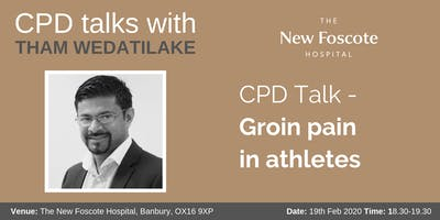 CPD Talk - Groin pain in athletes