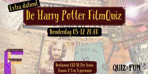 De Harry Potter FilmQuiz | Utrecht 05-12