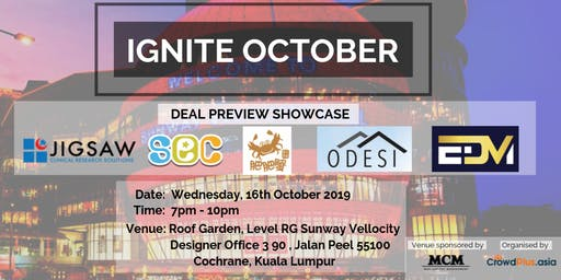 IGNITE October: Deal Preview Showcase