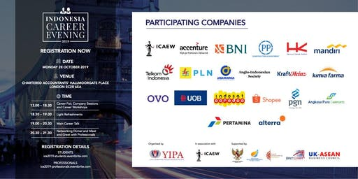 Indonesia Career Evening 2019 (Students Admission Ticket)