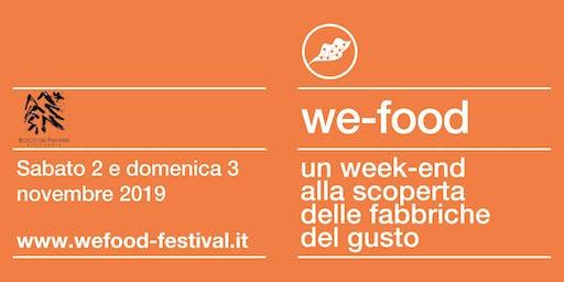 We-Food 2019 @ Ristorante Bosco dei Pini Neri