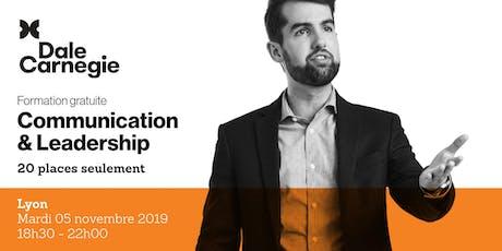 Communication & Leadership - Soirée de formation gratuite à Lyon billets