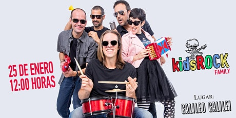 Kids Rock Family Galileo entradas