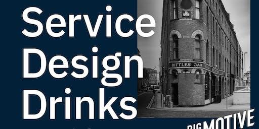 Service Design Drinks Belfast