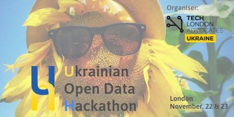 Ukrainian Open Data Hackathon tickets