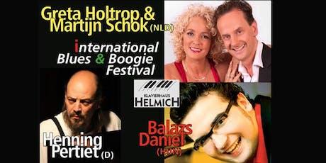 International Blues & Boogie Woogie Festival - Pertiet, Holtrop, Schok, Dan tickets
