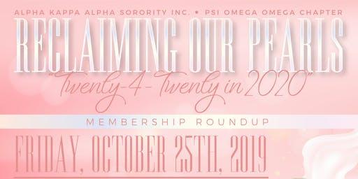 Reclaiming Our Pearls...Membership Roundup