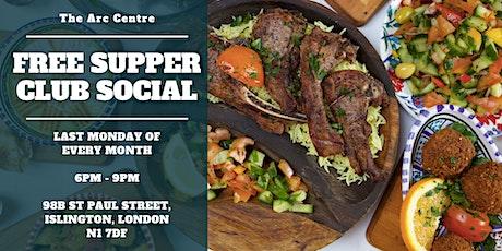 Free Supper Social Club Social tickets