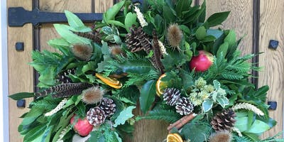 Christmas Wreath & Table Decoration Workshop