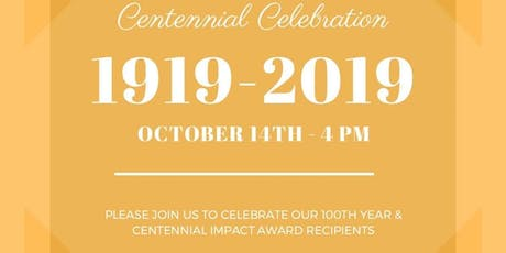 Centennial Celebration tickets