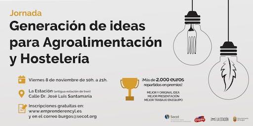 Jornada de Generación de Ideas en Agroalimentación y Hostelería