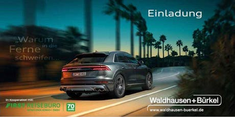 FIRST Fernweher Reisetrends 2020presented by Waldhausen & Bürkel Tickets