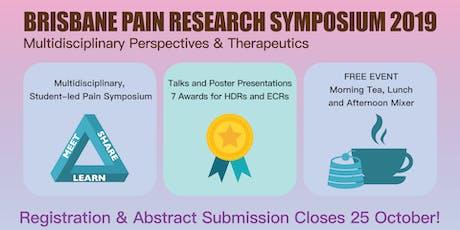 Brisbane Pain Research Symposium 2019 tickets