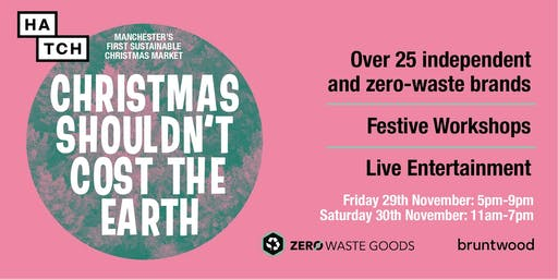 Manchester's First Sustainable Christmas Market