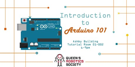 Introduction to Arduino 101 tickets