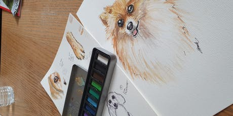 Painting with Dogs | Pups, Paint and Prosecco tickets