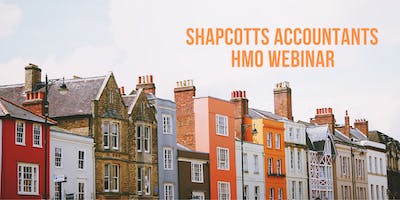 HMO (Houses of Multiple Occupation): A Landlord's Guide To Tax - Webinar