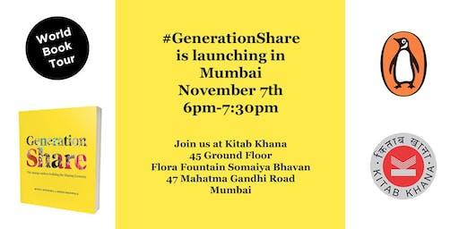 Generation Share World Book Tour: Mumbai Launch with Benita Matofska
