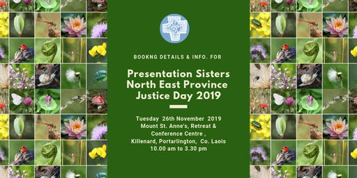 Presentation Sisters North East Province (Ireland)  - Justice Day 2019