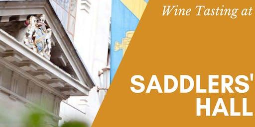 Saddlers' Hall Christmas Wine Tasting