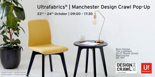 Ultrafabrics® |  Manchester Design Crawl Pop-Up
