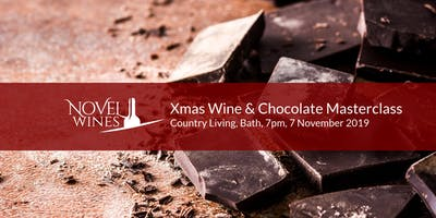 Christmas Wine & Chocolate Masterclass, Country Living Hotel, Bath