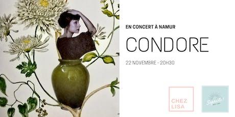 CONDORE en concert à Namur billets