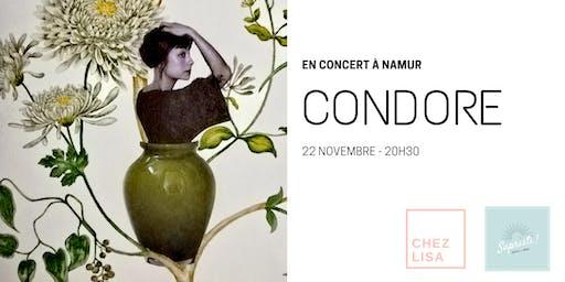 CONDORE en concert à Namur